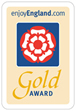 Enjoy England Gold award image.